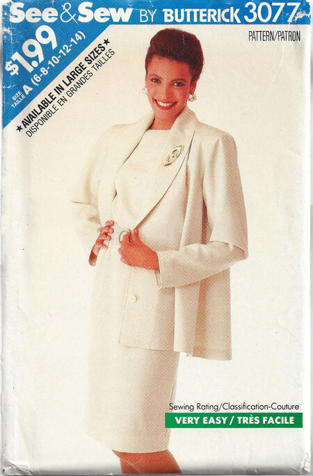 Butterick 3088 Dress Coat