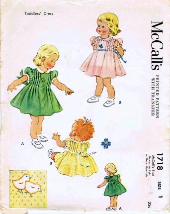 McCalls 1952 1718