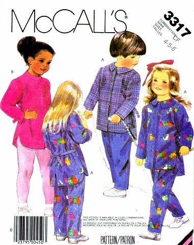 McCalls 1987 3317