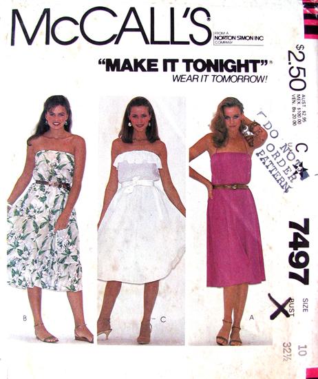 Mccalls 7497