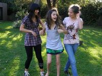 Young Tini and friends