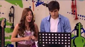 "Violetta - Cami sings ""Breathless"""