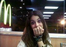 Martina at McDonald's