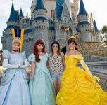 Tini and Disney princesses