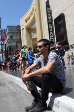 Pablito on Hollywood Boulevard