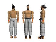 Virtua Fighter Art Jeffry 02