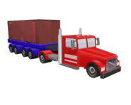 Truck container redirect