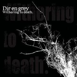 Withering to Deathportada