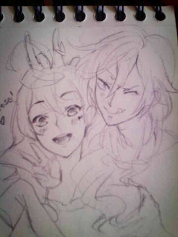 File:Que decida el corazón - MAIKA & YOHIOloid sketch.jpg