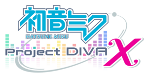 Project diva x logo