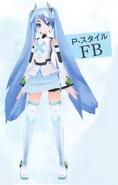 Module p style FB (felicia blue)