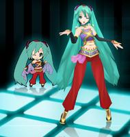 Hatsune Miku-Arabian