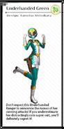 X module hikyou green