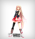 IA ROCKS Official MMD Model