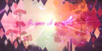 Flower of sorrow