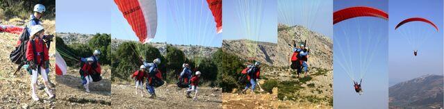 Fichier:Tandem paraglider launch.jpg