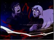 Voltron unedited couple slashed in half