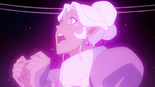 46. Allura is paralyzed in mid-air