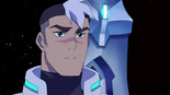 20. Shiro pauses at Hunk's stepping up to the plate