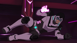 296. Shiro tumbles after attacking Haggar