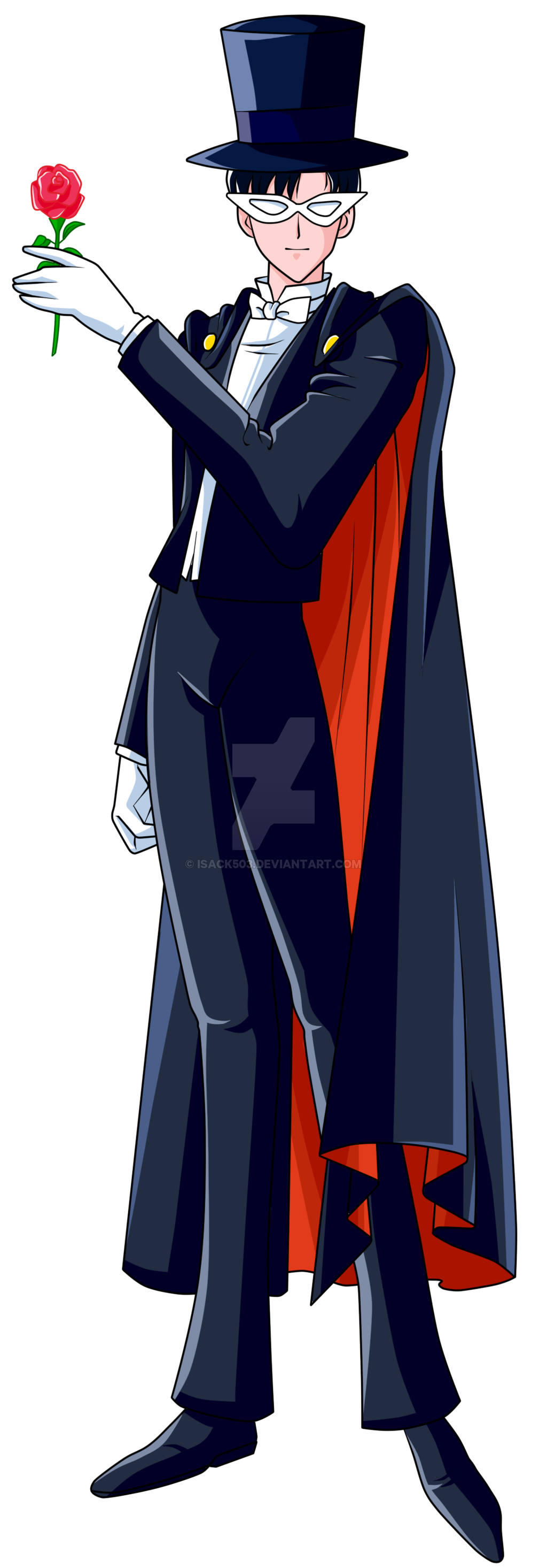 tuxedo mask height