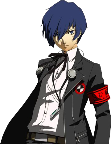 Persona 3 minato arisato all out battle render by sieghartelsy-d7oj22c
