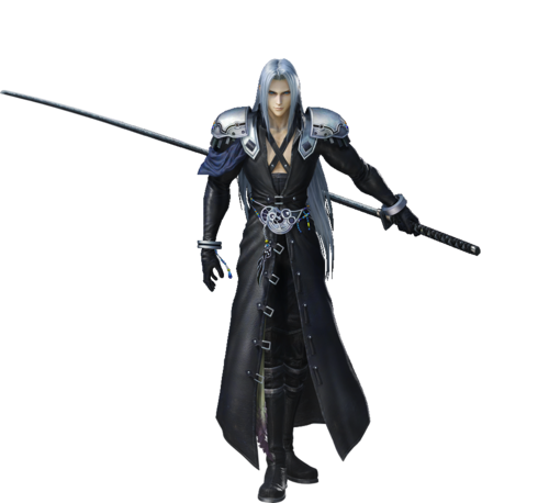 Sephiroth Dissidia Render