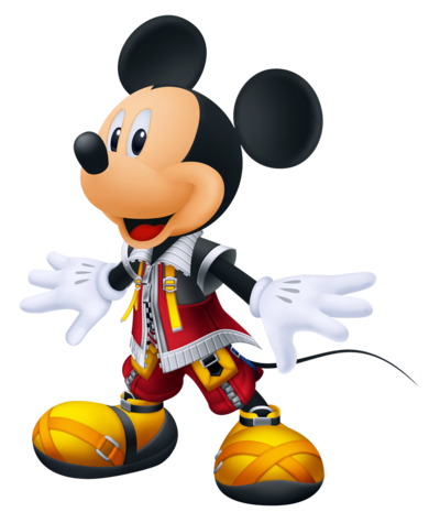 King Mickey - Kingdom Hearts Recoded render