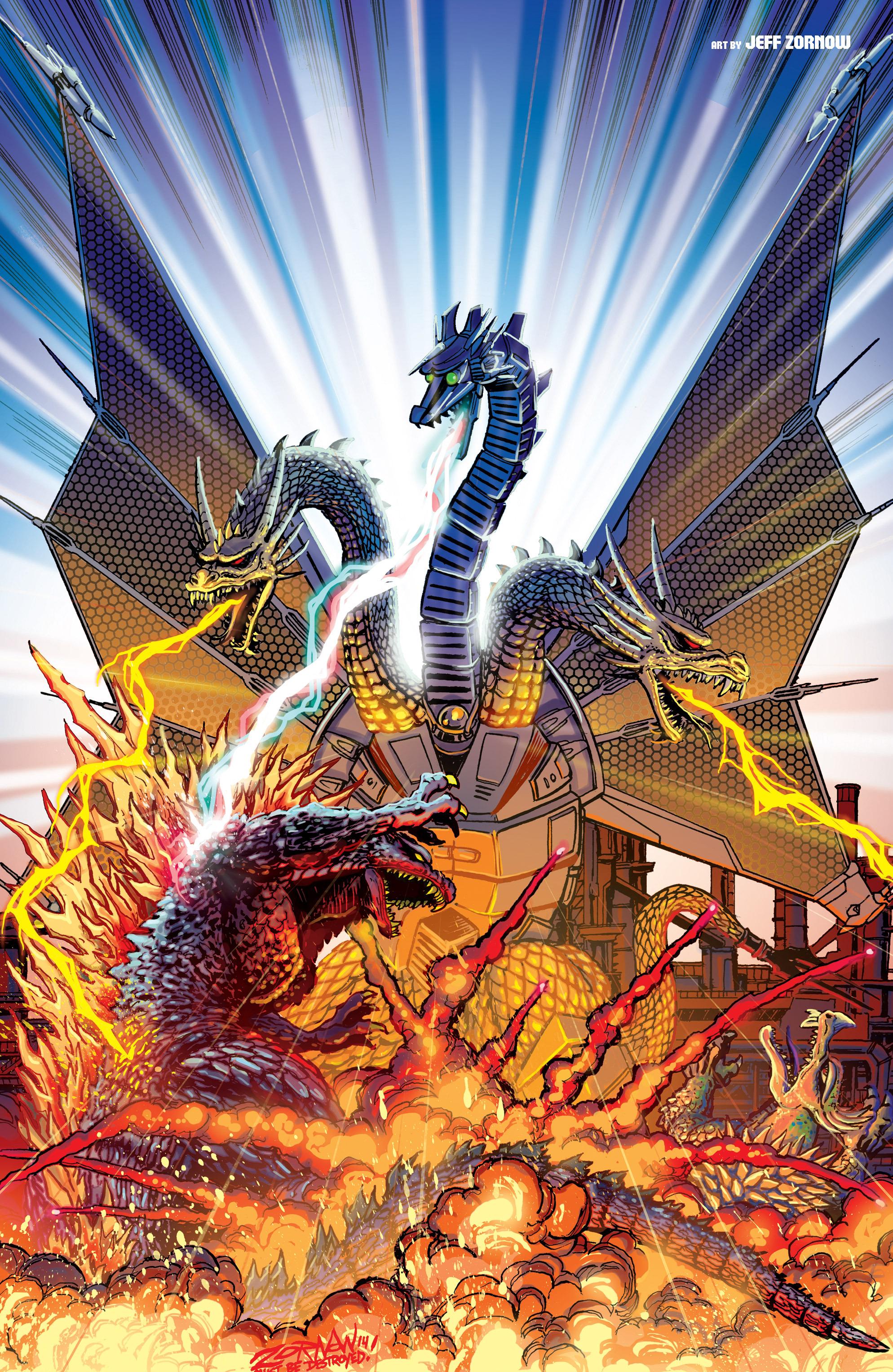 Godzilla Vs Mecha King Ghidorah The Godzilla 2 Specula...