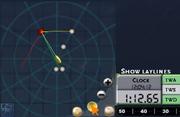 Radar toggle laylines