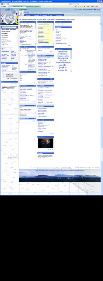 MyLZ Registered dashboard before