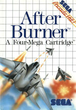 After Burner SMS box art