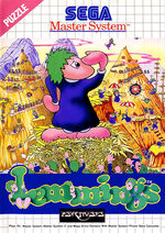 Lemmings SMS box art