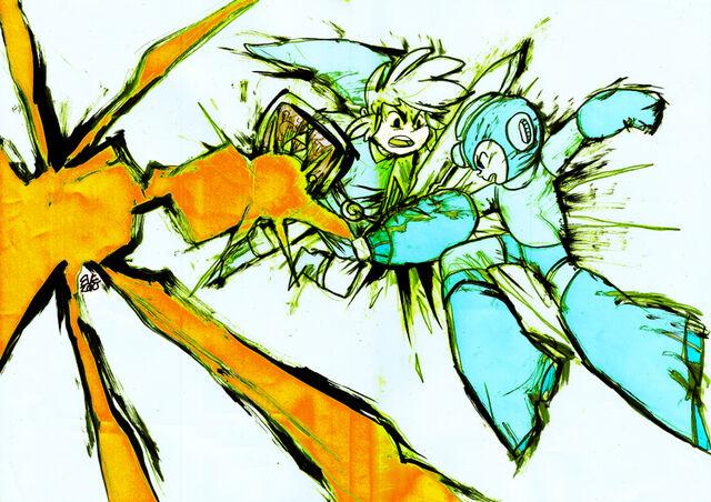 File:Link vs mega by nayruchan-d31i29n.jpg