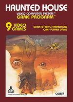 Atari 2600 Haunted House box art