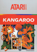 Atari 2600 Kangaroo box art