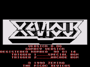 MicroXevious-SMS-TitleScreen