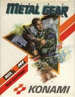 Metal Gear MSX2 cover