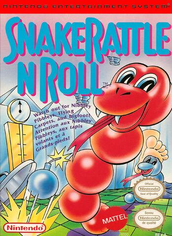 File:Snake Rattle n Roll NES cover.jpg