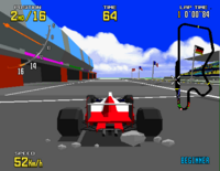 Virtua Racing arcade screenshot