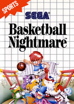 Basketball Nightmare SMS box art