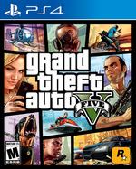 GrandTheftAutoV(PS4)