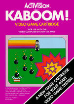 Atari 2600 Kaboom box art