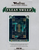 Clean Sweep Vectrex cover