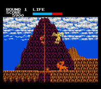 Rastan Saga MSX2 screenshot