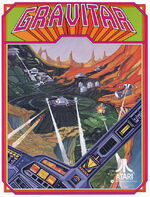 Gravitar arcade flyer