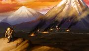 The Fall of Koganusan by majicxiii