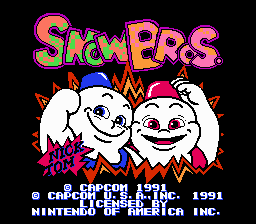 File:Snow Bros Title.png