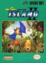 Adventure Island 2 NES cover
