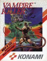 Vampire Killer MSX2 cover